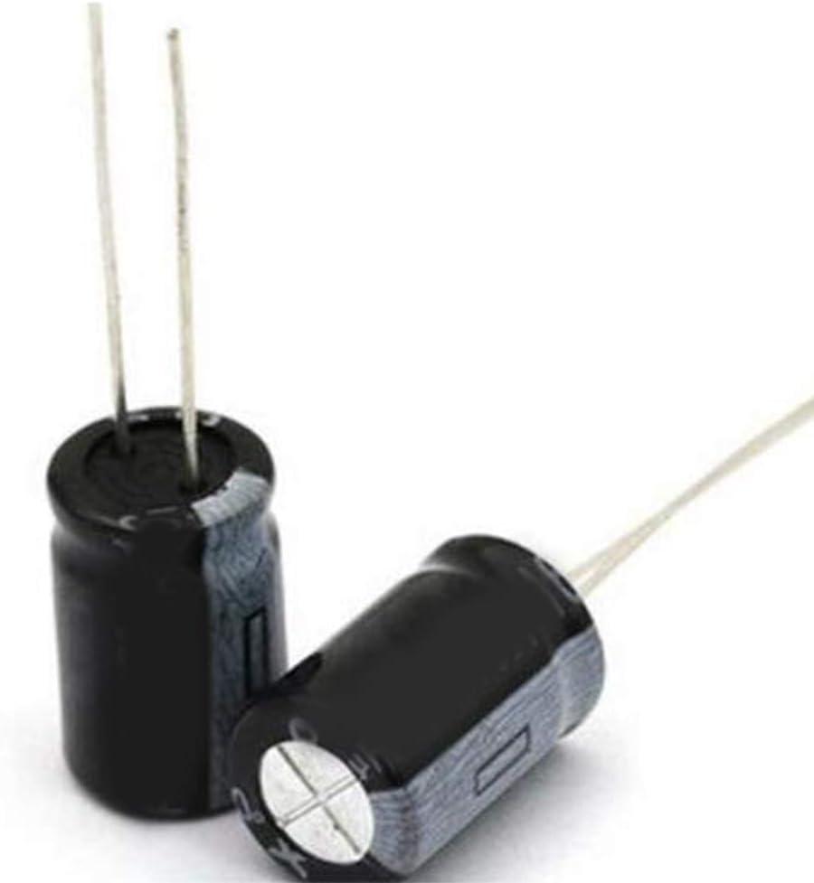 5PCS 400V 450V 1UF 2.2UF 3.3UF 4.7UF 6.8UF 10UF 15UF 22UF 33UF 47UF 68UF 82UF 100UF 150UF Aluminum electrolytic Capacitor,12 Values x10pcs kit