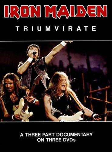 Iron Maiden -Triumvirate (3 x DVD DELUXE BOX SET) [Reino Unido]