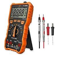 Multímetro Digital Profesional, LOMVUM T28B Automático Polimetro Digital 6000...