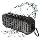 VAVA Enceinte Bluetooth Portable avec 24h d'Autonomie Haut-Parleur Stéréo Étanche IPX6 VOOM 23 5200mAh Bluetooth 4.1 Aux 3.5 mm