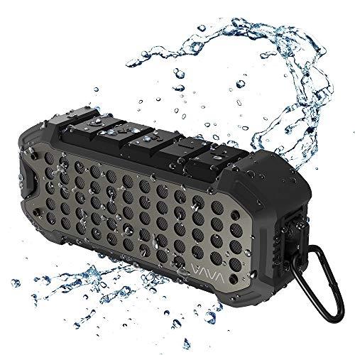 VAVA Altavoz Bluetooth Portátil con Autonomía de 24 h Altavoz Estéreo Resistente al Agua IPX6 VOOM 23 5200mAh Bluetooth 4.1 Aux 3.5 mm