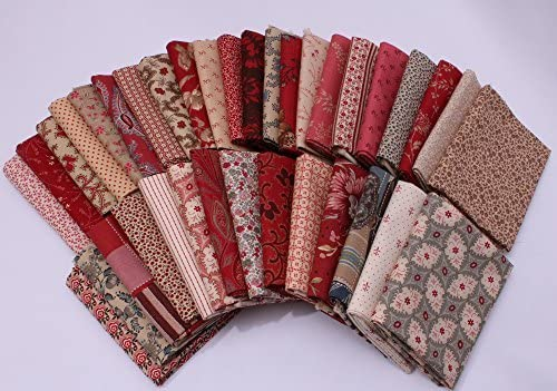 10 Fat Quarters - Assorted Moda General New products world's highest quality popular France Flo Don't miss the campaign Calico French