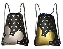 Disney Drawstring Bags on Amazon. Theme Park Packing List
