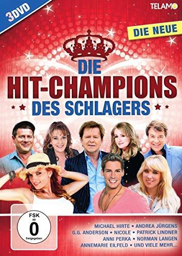 Die Hit-Champions des Schlagers-Die Neue [3 DVDs]