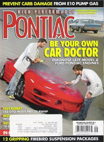 High Performance Pontiac Magazine S…