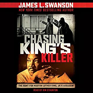 Chasing King's Killer audiobook cover art