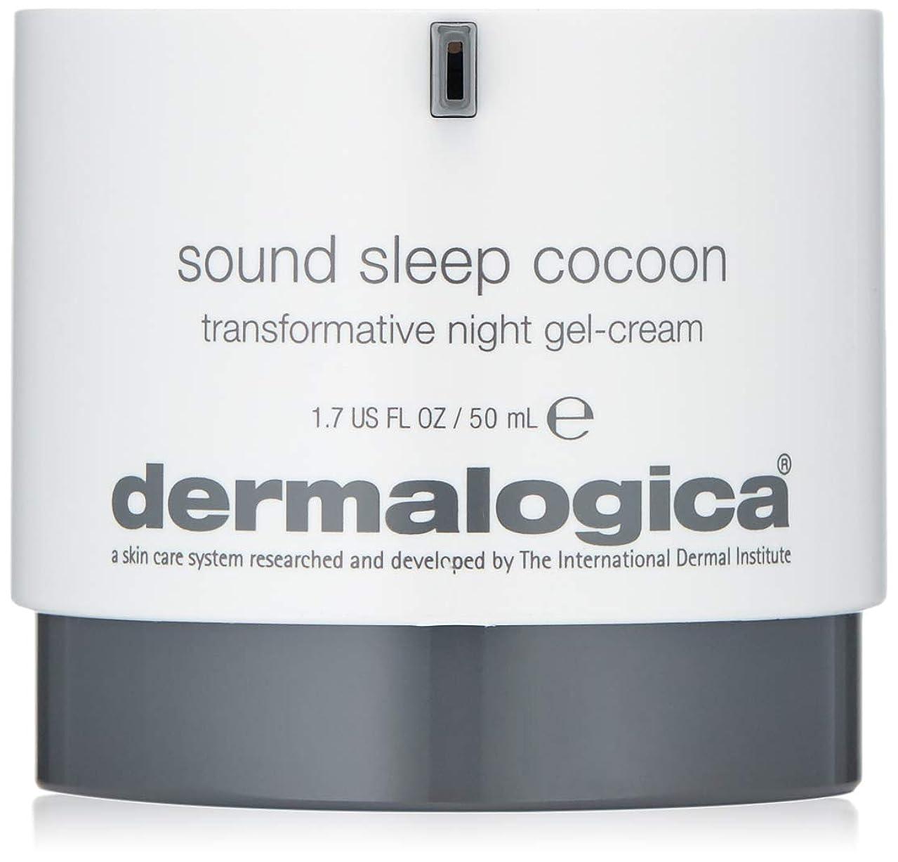 ガード故障中絶滅させるダーマロジカ Sound Sleep Cocoon Transformative Night Gel-Cream 50ml/1.7oz並行輸入品