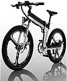 Bicicletas Eléctricas, Adultos de bicicleta eléctrica, con 400W motor 26 '' Folding Mountain bike E-Frenos Ocultos batería de litio extraíble de doble disco de las ciudades de bicicleta eléctrica unis