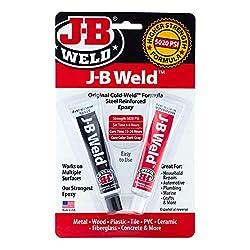 commercial JB Welding 8265S Original Epoxy Cold Welded Steel Reinforced – 2 oz. jb weld plasticweld