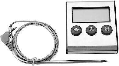 Zouminyy Termómetro Termómetro Indicador de medición de temperatura de carne de alimentos bimetálicos