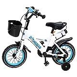 Actionbikes Kinderfahrrad Donaldo - 12 Zoll - V-Break Bremse vorne - Stützräder - Luftbereifung - Ab 2-5 Jahren - Jungen & Mädchen - Kinder Fahrrad - Laufrad - BMX - Kinderrad (12`Zoll) - 3