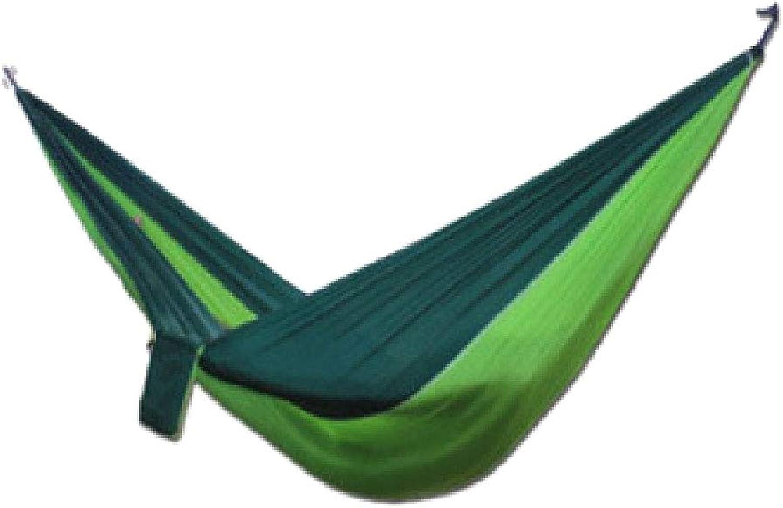 Hammock Single Travel Camping, Hammock Ultralight Outdoor 300Kg Capacity Hammock for Travel Outdoor Camping Garden(270X140 cm Multicolord)