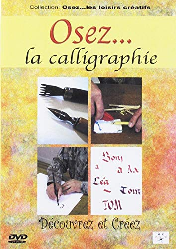 Le DVD Osez la calligraphie