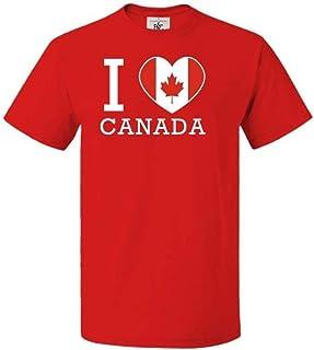 Mygoodprice Body b/éb/é 100/% Coton Drapeau I Love Canada