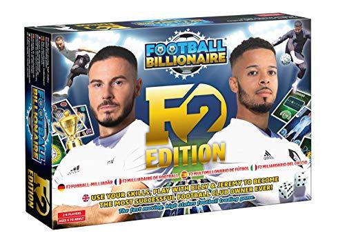 Football Billionaire F2 Gioco da Tavolo Edizione Limitata Con Billy e Jeremy F2Freestylers