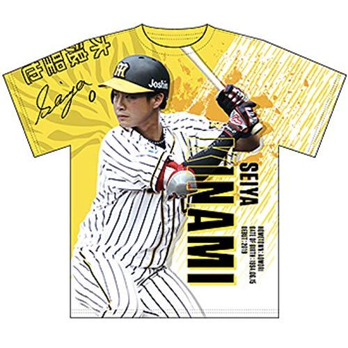 プロ野球 阪神タイガースグッズ 選手グラフィックTシャツ (0木浪, フリー)