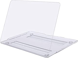 MOSISO Funda Dura Compatible con 2019 2018 2017 2016 MacBook Pro 15 con Touch Bar A1990 A1707 USB-C, Ultra Delgado Carcasa Rígida Protector de Plástico Cubierta, Claro Transparente