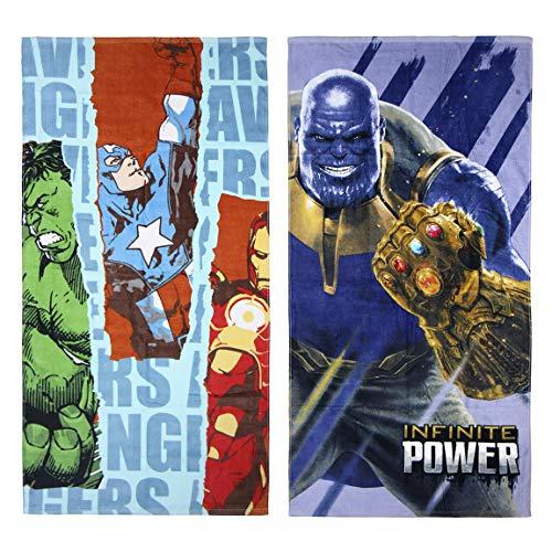Toalla ALGODÓN Avengers, Lila, 70x140 cm