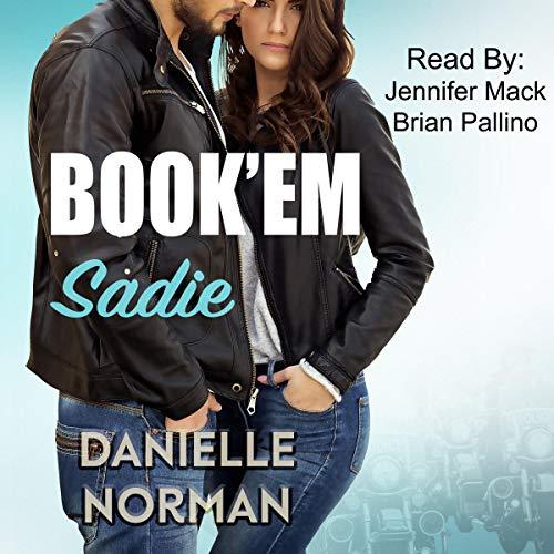 Book'em Sadie audiobook cover art