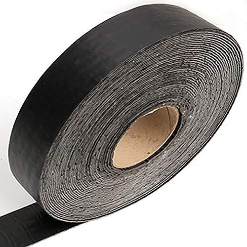 uyoyous Asphalt Crack Filler 50 ft x 2 Inch Asphalt Joint Repair Tape Driveway Road Reqaire Roll Parking Lot Crack Filler Self Adhesive Repairing Tape