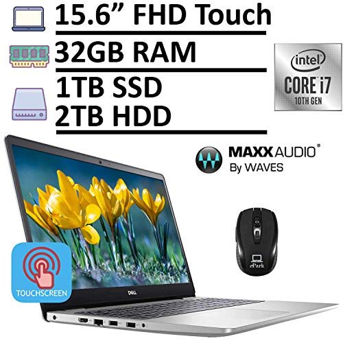 2020 Latest Dell Inspiron 15 5000 5593 Laptop, 15.6' FHD 1080p Touchscreen,...