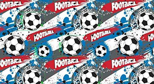 Slantastoffe Baumwollstoff Kinderstoff Fußball Breite 160cm ab 50 cm (0,5m)
