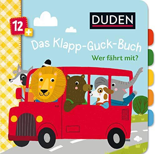 Duden 12+ Das Klapp-Guck-Buch: Wer fährt mit? (DUDEN Pappbilderbücher 12+ Monate)