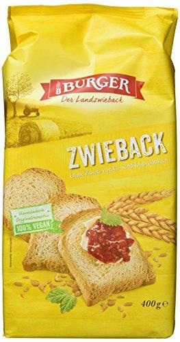 Burger Zwieback, 12er Pack (12 x 400 g)