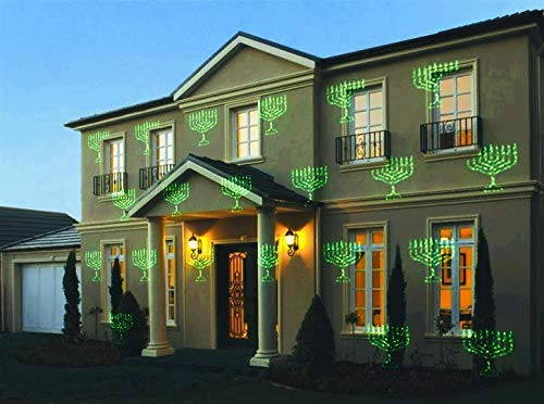 Chanukah Laser Lights, Home Decoration Hanukkah Lights Show Outdoors