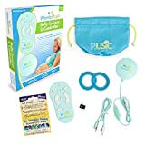 Womb Music Deluxe Bluetooth Baby-Bump Headphones for Prenatal Belly - Play Music, Sounds & Voices to Baby with a Wusic Pregnancy Speaker & Controller - Baby Shower Gift Pregnant Women