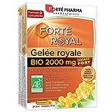 Forté Royal Gelée Royale 2000mg Bio 20 Ampoules de 10 ml