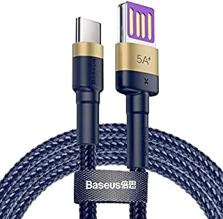 Baseus Upgrade Reversible USB Type-C Cable 5A/40W For Samsung Galaxy Note 9 S9 S8 Plus USB-C Fast Charging Data Cable