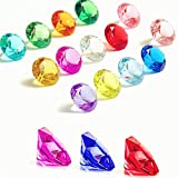 140 Pieces Acrylic Diamond Gems ...