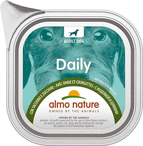Almo – Daily Menu GR.100 Dinde et courgettes – Dog 225