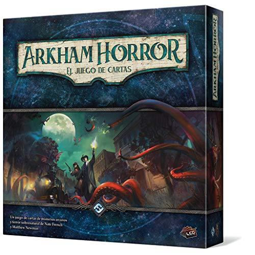 Fantasy Flight Games Arkham Horror: El Juego de Cartas de misterios arcanos y Terror Sobrenatural, Color (Edge Entertainment EDGAHC01)