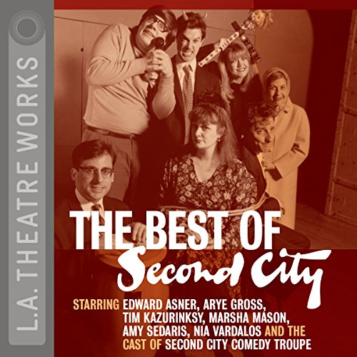 The Best of Second City audiobook cover art