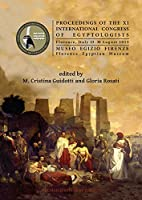 Proceedings of the XI International Congress of Egyptologists: Florence, Italy 23-30 August 2015 (Archaeopress Egyptology)