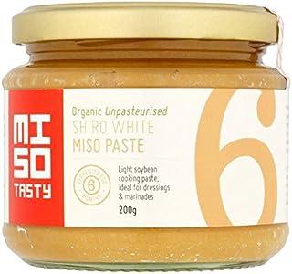 Miso Tasty Organic Shiro White Miso Cooking Paste - 200g (0.44lbs)