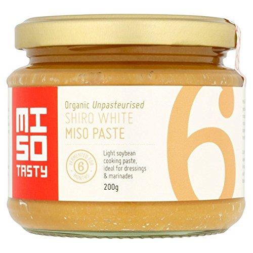 Miso Gustoso Biologico Shiro Bianco Miso Cottura Pasta 200g