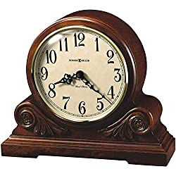 Howard Miller Desiree Mantel Clock 635-138 – Americana Cherry with Quartz, Dual-Chime Movement