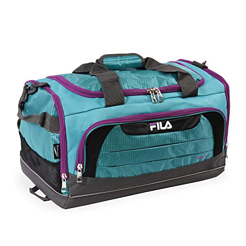 Fila Cypress Small Sport Duffel Bag: Bolsa de Lona Unisex  Color Azul  Talla Einheitsgr