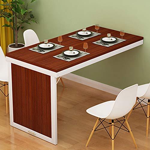 Muur klaptafel keukentafel Wandtisc eettafel schrijftafel, langwerpige keuken en eettafel, bureau, ontbijttafel 100×40cm/39×16inch 2