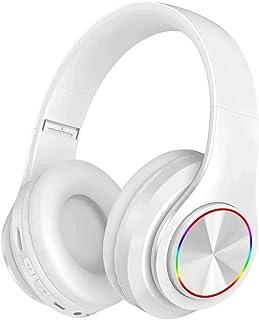 CIC Fones de ouvido Dobrável Bluetooth com Led do Brilho de 7 Cores Over Ear em Estéreo Sem Fio Cartão TF Portátil com Mic...