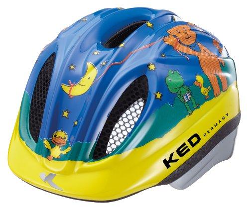 KED Meggy Original - Casco de Ciclismo Infantil, Color Multicolor, Talla M...