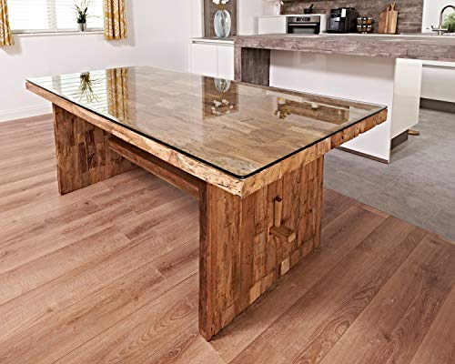 dining table from reclaimed teak wood