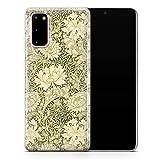 Coque design pour Samsung S6 Edge Motif fleurs William Morris D113 - Design 1