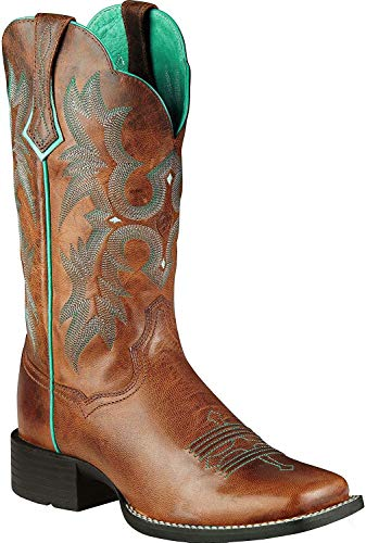 Best womens boots cowboy square toe for 2020