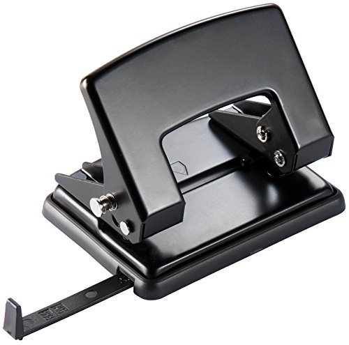 General Office Papierlocher: 2-fach-Bürolocher für 30 Blatt, Anschlagschiene für DIN A6 / A5 / A4 (Blocklocher)