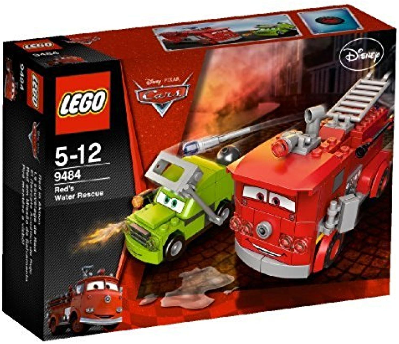 100% garantía genuina de contador LEGO Coches 9484 - El Rescate acuático de Rojo Rojo Rojo  el estilo clásico