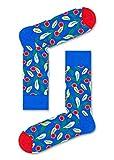 Happy Socks, bunt premium baumwolle Geschenkkarton 3 Paar Socken für Männer & Frauen, Flower Geschenkbox (36-40)